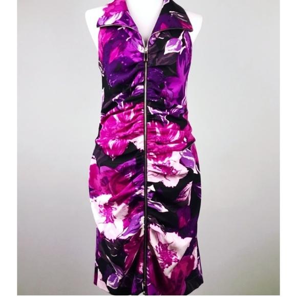 Cache Dresses & Skirts - Cache purple floral dress